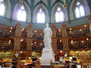 Centrálny blok parlamentu (Central Block) - Knižnica (Library)