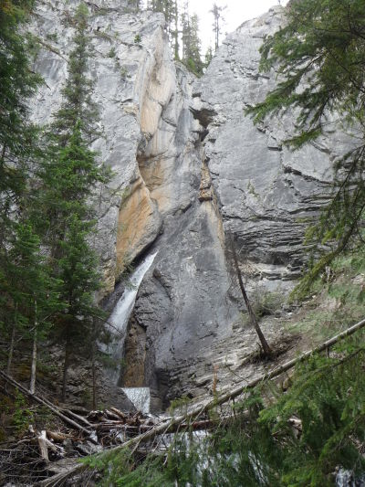 Hamiltonov vodopád v národnom parku Yoho