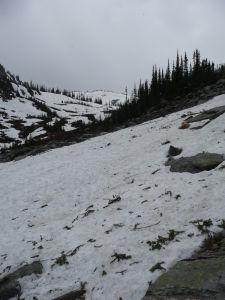 Sneh uprostred leta