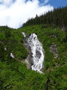 Vodopád zblízka