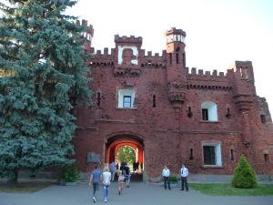 Brestská pevnosť - brána