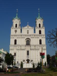 Grodno - Chrám sv. Františka Xaverského