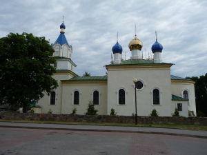 Ortodoxný kostol v Mire