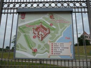 Plánik hradu a jeho okolia