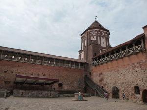 Jedna z veží z nádvoria