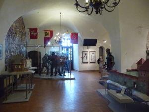 Múzeum v hrade Mir