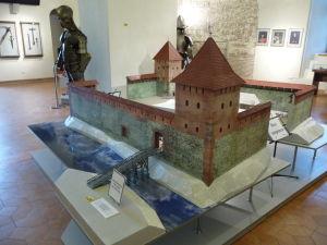 Veľká maketa hradu