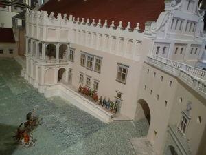 Maketa hradu Nesviž