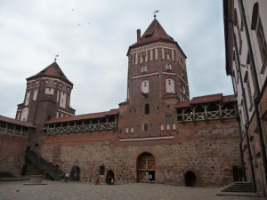 Hlavná vstupná veža z nádvoria