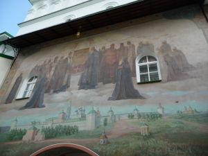 Maľba na hlavnej bráne