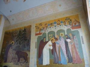 Fresky v hlavnej bráne