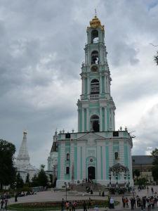 Zvonica kláštora - kedysi najvyššia stavba Ruska