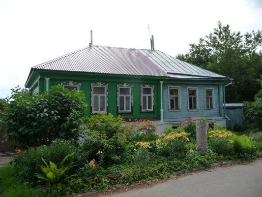 Maľovaný domček v Suzdali