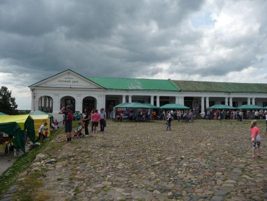Nákupné arkády v Suzdali