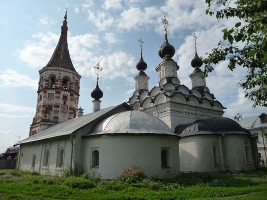Kostoly Antipievskaja a Lazarus v Suzdali