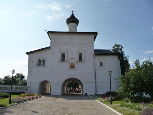 Kláštor sv. Euthymia v Suzdali, Kostol Zvestovania, ktorý zároveň slúži ako vstupná brána