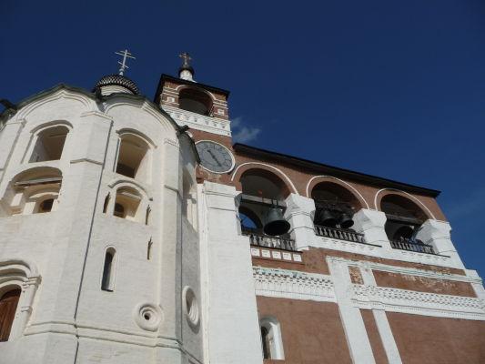 Kláštor sv. Euthymia v Suzdali - Kostol Jána Krstiteľa so zvonicou