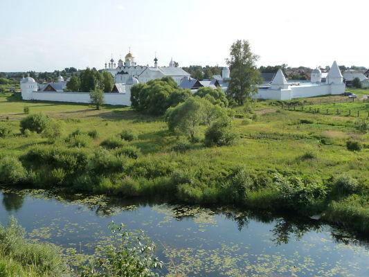 Ženský kláštor Pokrovskij v Suzdali