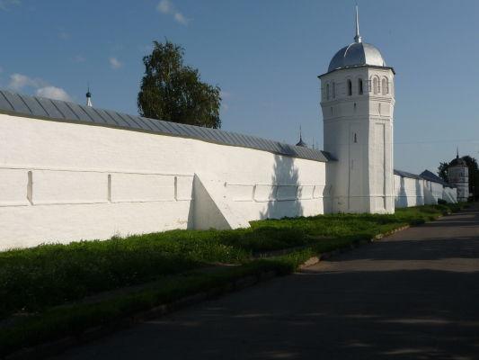 Opevnenie ženského kláštora Pokrovskij v Suzdali