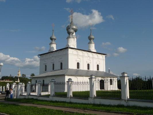 Kostol Petra a Pavla pri ženskom kláštore Pokrovskij v Suzdali