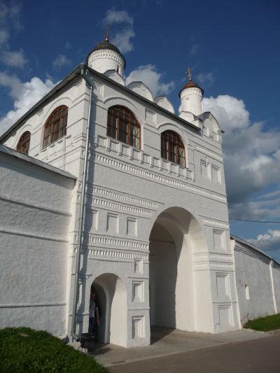 Vstupná brána ženského kláštora Pokrovskij v Suzdali
