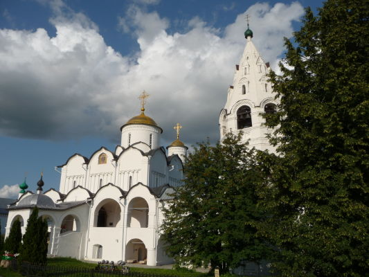 Katedrála orodovania - Ženský kláštor Pokrovskij v Suzdali