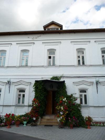 Privátny areál v ženskom kláštore Pokrovskij v Suzdali