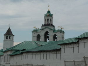 Kláštor premeny Spasiteľa - Opevnenie a zvonica