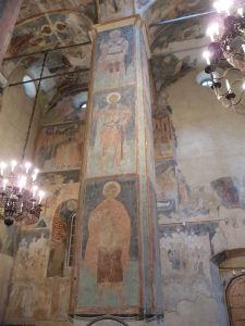 Kláštor premeny Spasiteľa - Fresky v katedrále