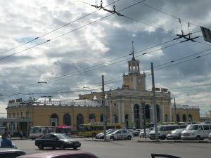 Hlavná železničná stanica v Jaroslavli