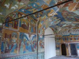 Chrám proroka Eliáša - Fresky vo vchode