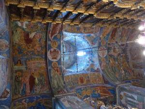 Chrám proroka Eliáša - Fresky