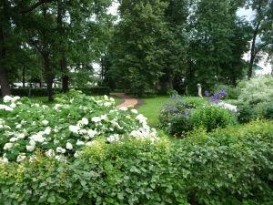 Záhrada v Jaroslavli