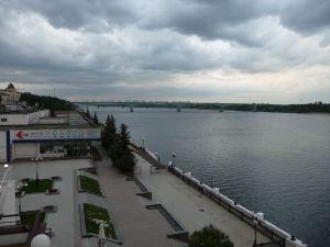 Volga a promenáda