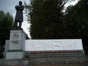 Socha Nikolaja Nekrasova