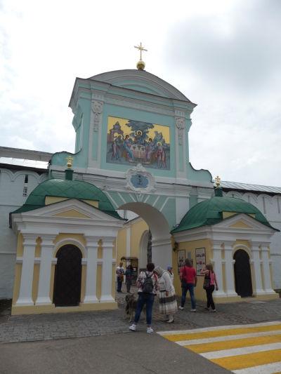 Ipatievský kláštor v Kostrome - Hlavný vstup