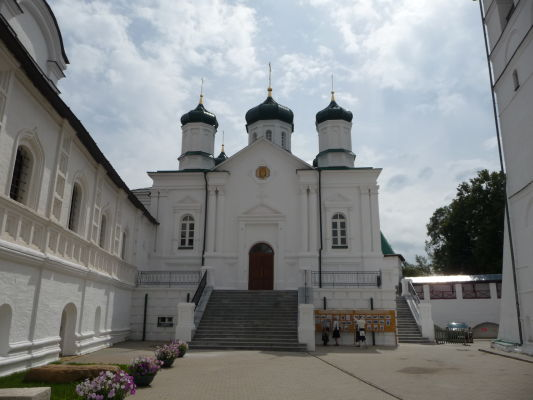 Malý kostol v Ipatievskom kláštore v Kostrome