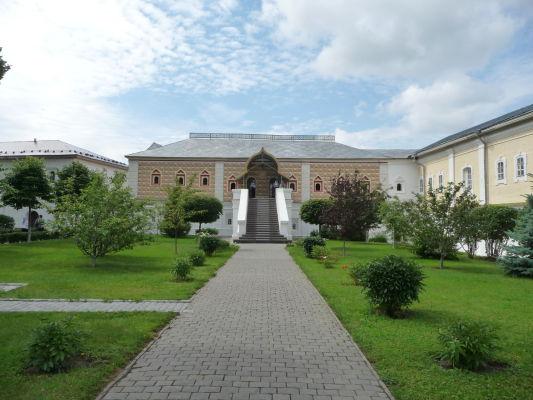 Vnútorné nádvorie Ipatievského kláštora v Kostrome