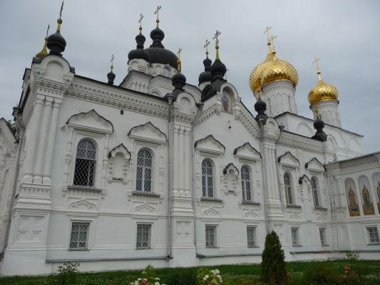 Chrám v ženskom Kláštore Zjavenia Pána v Kostrome