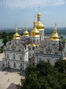 Katedrála uspania zo zvonice