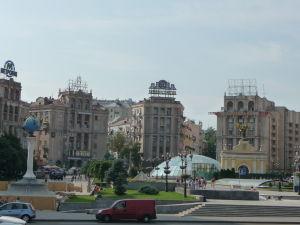 Pohľad na spodnú časť Majdanu