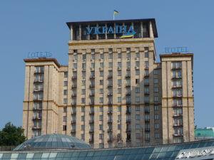Hotel na Ukrajine na Majdane