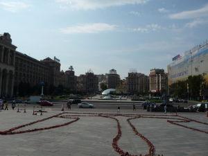 Pohľad na Majdan