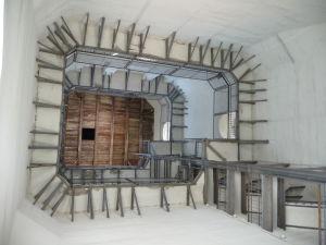 Vo vnútri zvonice Katedrály sv. Sofie