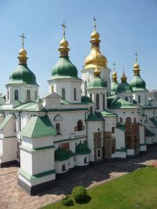 Katedrála sv. Sofie zo zvonice
