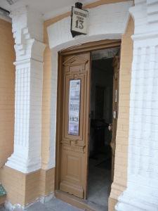 Vchod do Múzea Michaila Bulgakova