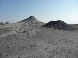 Bahenné sopky v Gobustanskom národnom parku