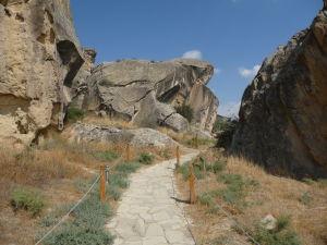 Národný park Gobustan - Cesta k petroglyfom
