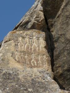 Národný park Gobustan - Petroglyfy znázorňujúce tanec