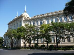 V Baku je vidieť veľký vplyv európskej architektúry